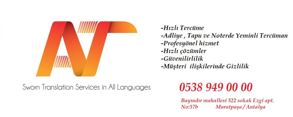 Antalya'da Uygun Fiyatlı Tercüme