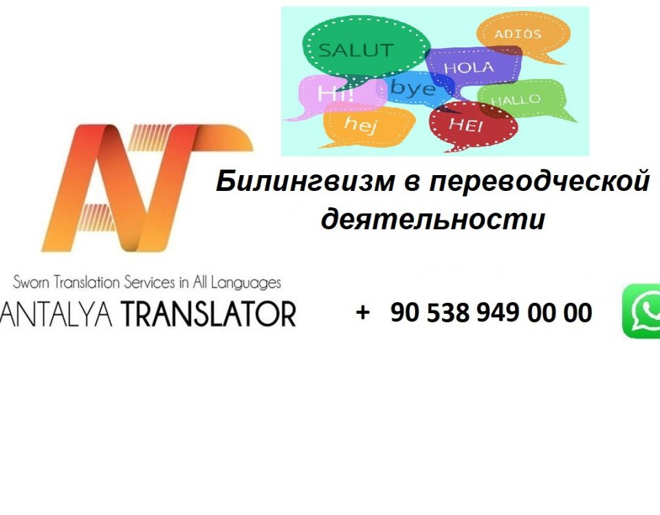 Билингвизм в переводческой деятельности