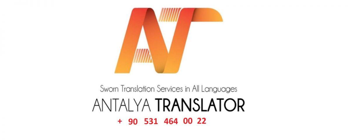 Sworn translator and interpreter in Antalya Turkey